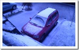 14 p.m. snow