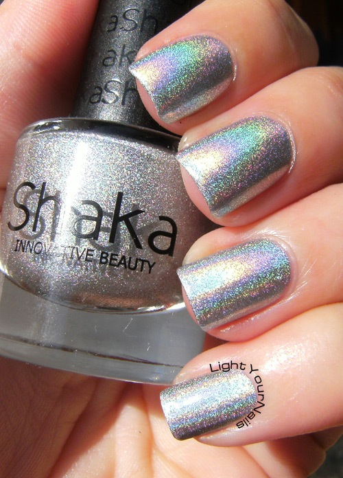 Shaka Hologram Silver (version A)