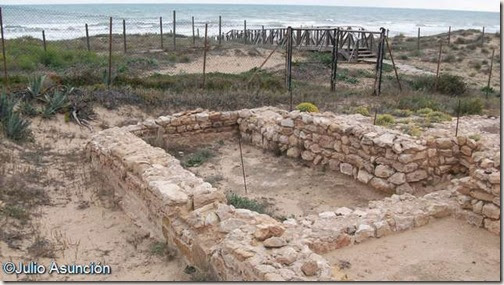 El Moncayo - yacimiento arqueológico - Guardamar