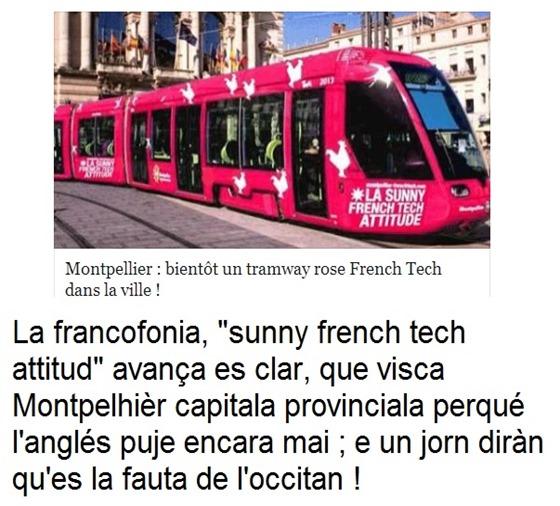Montpelhièr francofonia avança