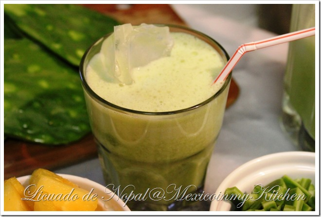 Nopal Cactus Juice | Authentic Mexican Recipes