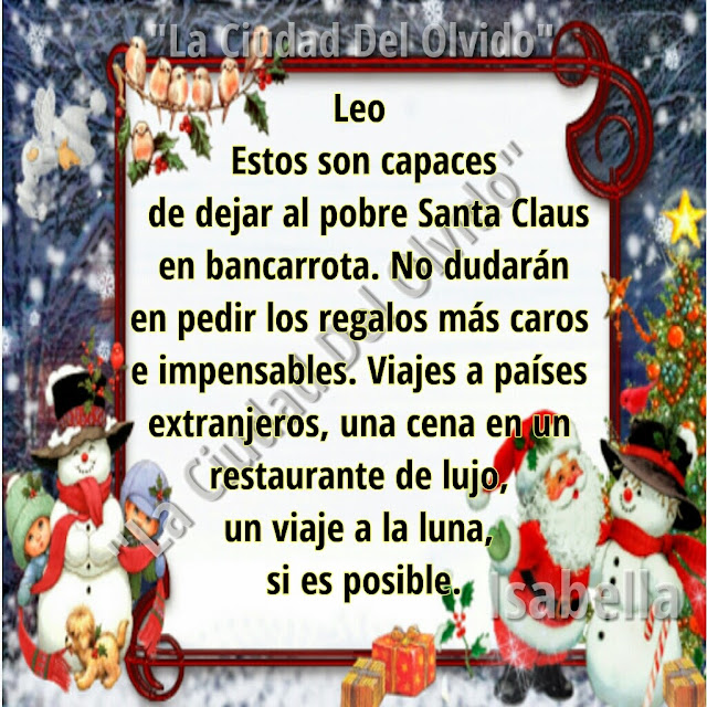 La ciudad del olvido regalo de navidad para cada signo leo - Regalos para pedir en navidad ...