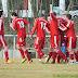 SV Gommersheim - TuS Altleiningen 2:1 (2:0) - © Oliver Dester - http://www.pfalzfussball.de - Jubel nach dem 2:0, nur 2 Minuten nach dem 1:0. Alexander Wiemers versenkte einen 40m-Freistoß im Winkel