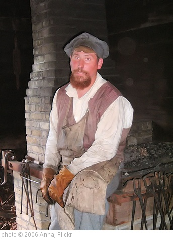 'Civil War Blacksmith' photo (c) 2006, Anna - license: http://creativecommons.org/licenses/by/2.0/