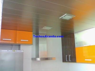 Falsos techos de aluminio Fuenlabrada
