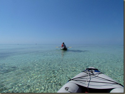 kayaking around sunshine key