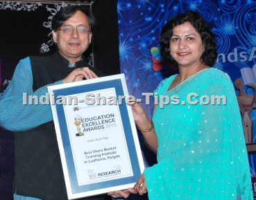 Best Stock Market Tips Provider Award Winner