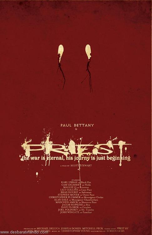 cartazes geeks nerds de filmes famosos  padre priest(8)