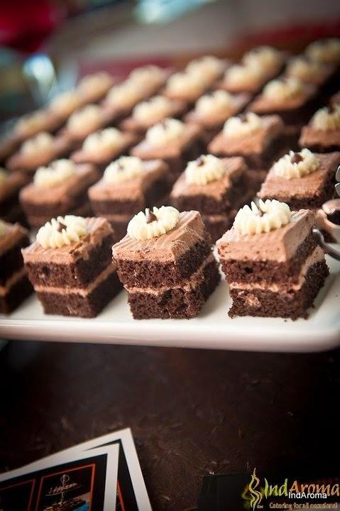 Desserts Mini Cake Slices