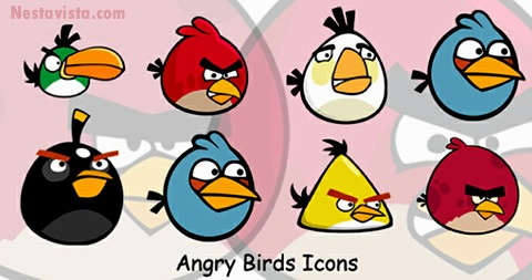 Iconos angry birds