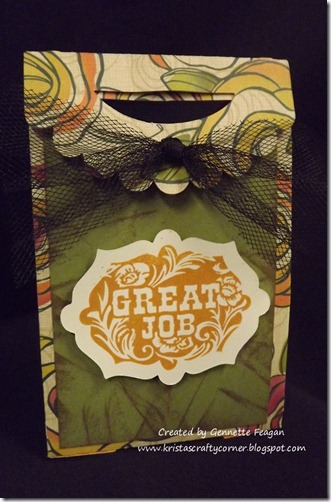 Gennettes 3D bag using Flirty