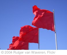 'Red flags' photo (c) 2004, Rutger van Waveren - license: http://creativecommons.org/licenses/by-sa/2.0/