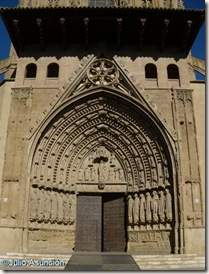 Catedral de Huesca - Pórtada gótica