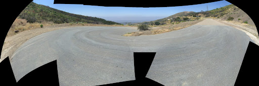 Gibraltar Road Panorama
