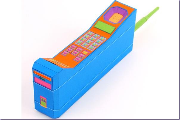Arte-Recortes-Papel-Eletrônicos-Telefone