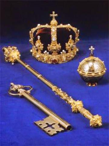 corona real Sueca