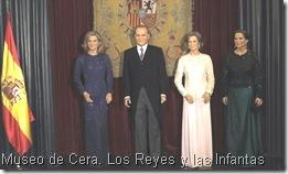 Museo Cera. Los Reyes y las Infantas