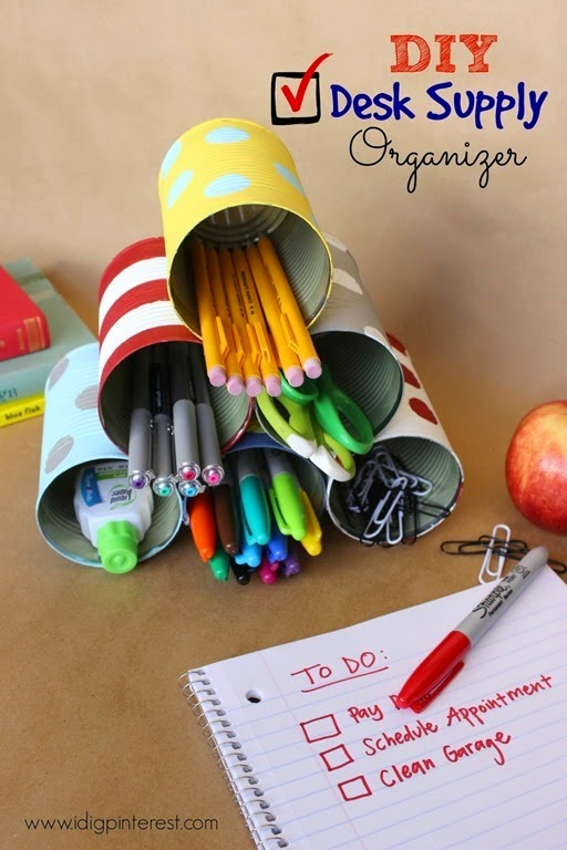 DIY Desk Supply Organizer3