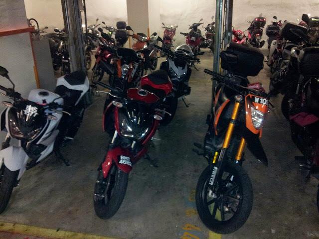 Motor BabyZ Abah