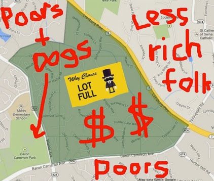 Map of richies