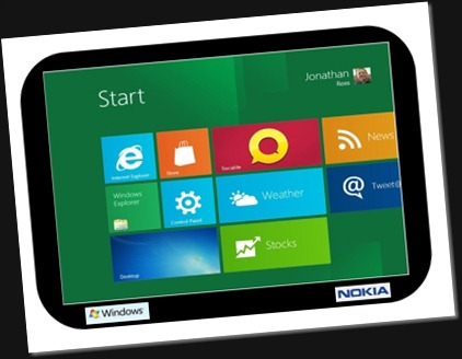 Win8 Tablet Mockup