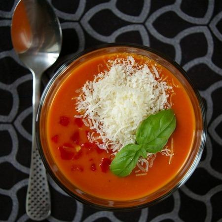 Kall tomatsoppa - Kelda Creamy Gazpacho