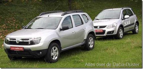 Dacia Duster vs Suzuki SX4 01