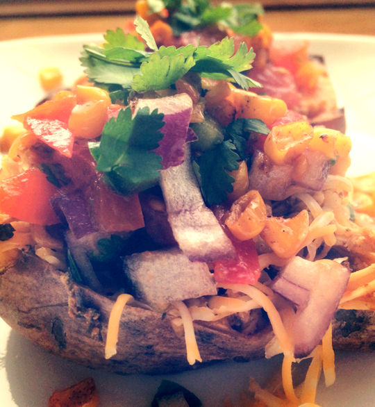 Mexican Sweet Potato Bowls