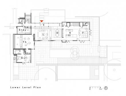 Casa Oz Fachada Contemporanea Con Madera Caoba Arquitecto Swatt - Planos-de-casas-en-l