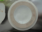 Two patterns of Mikasa dinnerware: