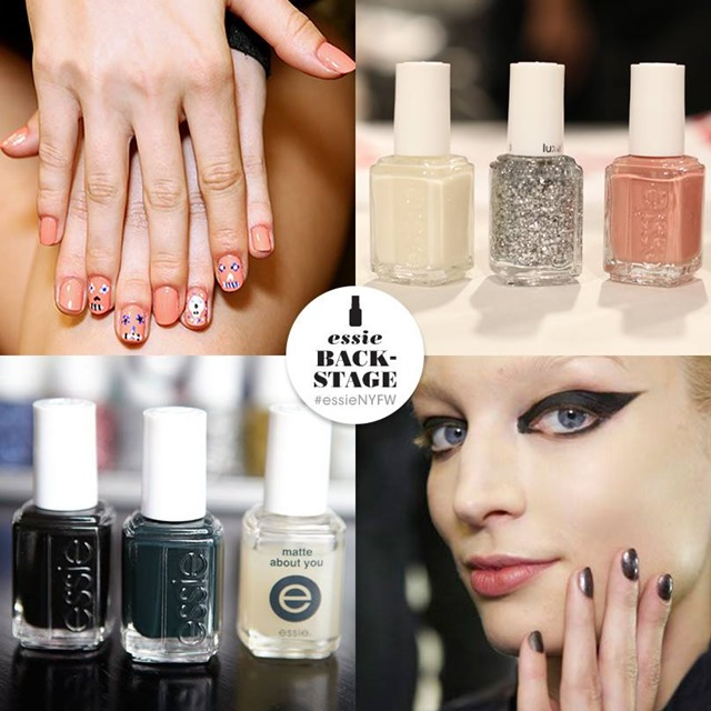 Essie at NYFW 2014 (from Essie's Facebook Page)