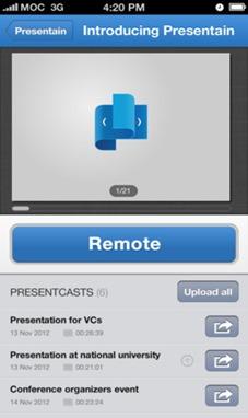 Crear Diapositivas desde el móvil iOS