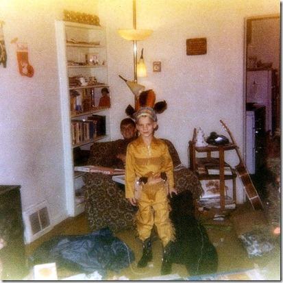 Nathan at Christmas 1974