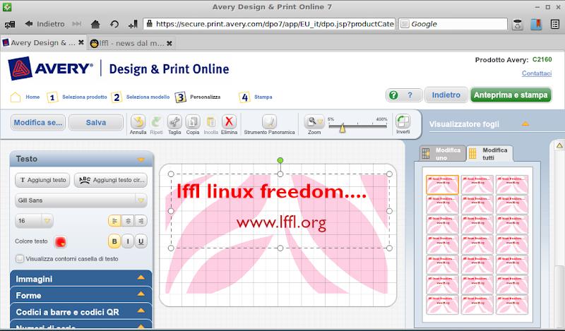 avery design print online creare e stampare biglietti da