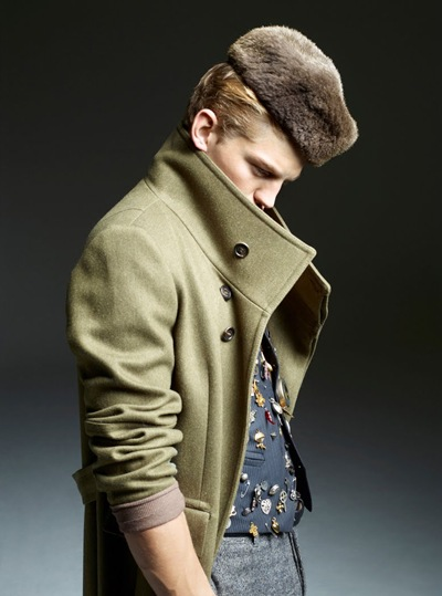 Sebastian Sauve @ Premier/Soul by Fred Jacbons for WAD #51 (DEC/JAN/FEB 2012). Styled by Benoit Martinengo.