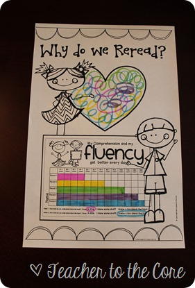 Why do we re-read? An essential question! This blog post talks all about reading comprehension and fluency practice.
