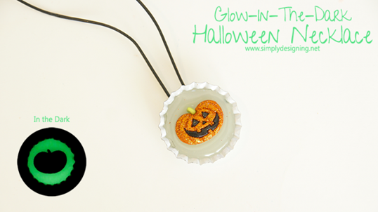 Glow-In-The-Dark-Necklace-Halloween-Craft