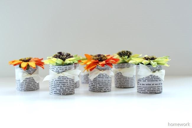 Paper Flower Favors 2