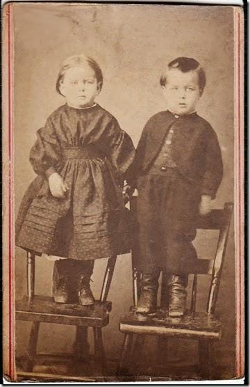 Mary Albertina Engle and Charles Albert Engle
