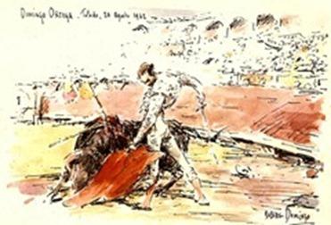 D.-Ortega--El-arte-del-toreo-Dibujo-[1]
