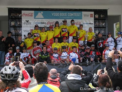 Vigo Bike Contest 2012. Open de España XCO.  Podio TODAS las CATEGORÍAS