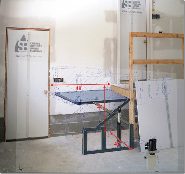 Wheelchair lift (components)