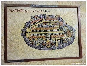 План Иерусалима. Израиль. www.timeteka.ru