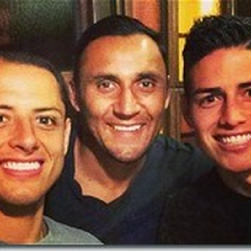 Los amigos de James Rodriguez en el Real Madrid
