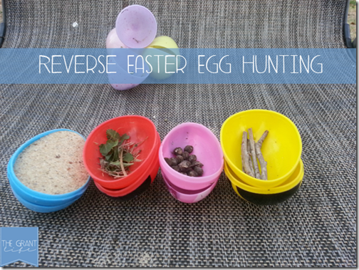 Reverse Easter Egg Hunt from Crystal & Co