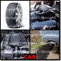 CAR- 4 Pics 1 Word Answers 3 Letters