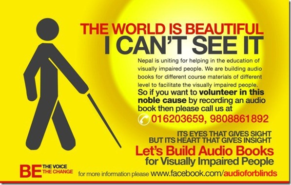 Lets Build Books for Visually Impaired People
