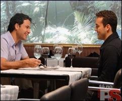 Marcos Damigo e Rodrigo Andrade