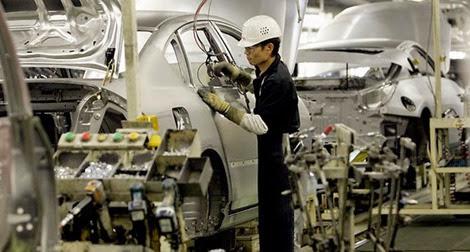 producao industrial do Japão