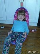 Myla sitting